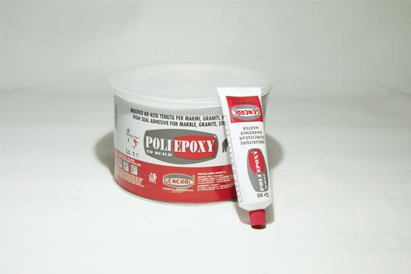masilla poliepoxi blanco o negro