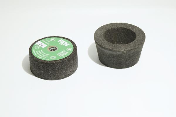 abrasibo seco muela taza