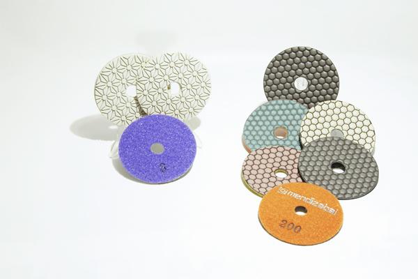 abrasivo seco-Lija Diamante 3 pesos